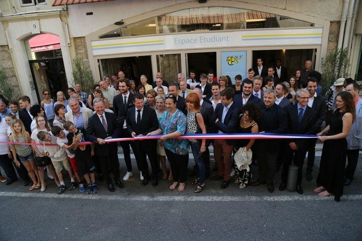 Inauguration des nouveau locaux de la Face06 et de l'AGORAé l'épicerie solidaire étudiante