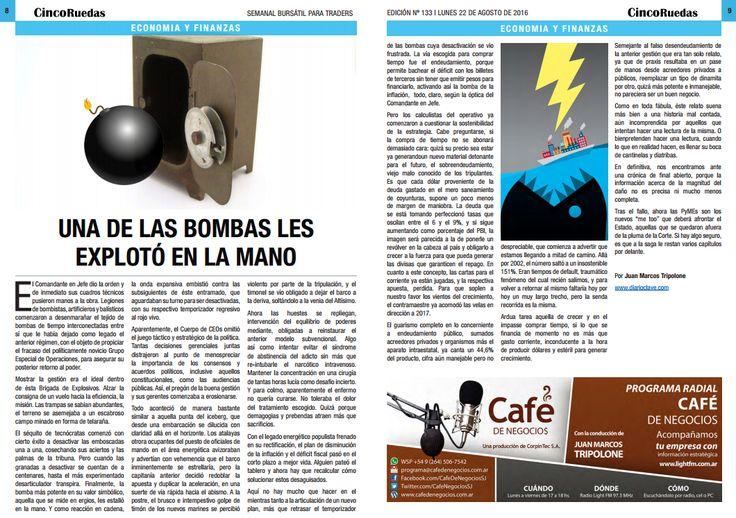 Edición digital impresa en Cinco Ruedas | El diario del inversor bursátil