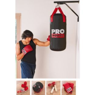 Buy Pro Fitness 2ft Deluxe Boxing Set with Punch Bag at Argos.co.uk - Your Online Shop for Boxing and martial arts equipment.