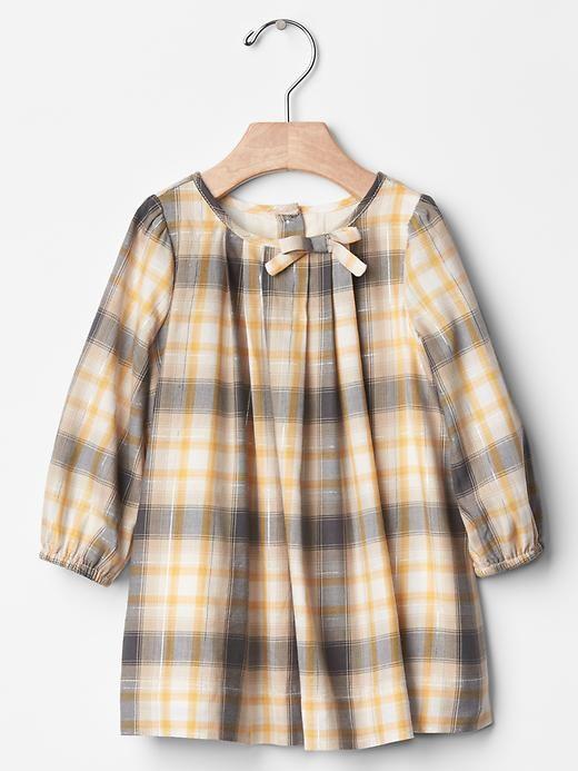 Dainty plaid dress   Gap