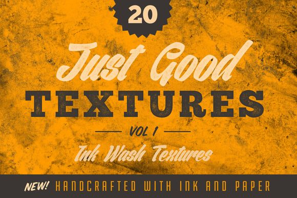 Just Good Textures v1 - Ink Washes by GraphicMonkee on @creativemarket