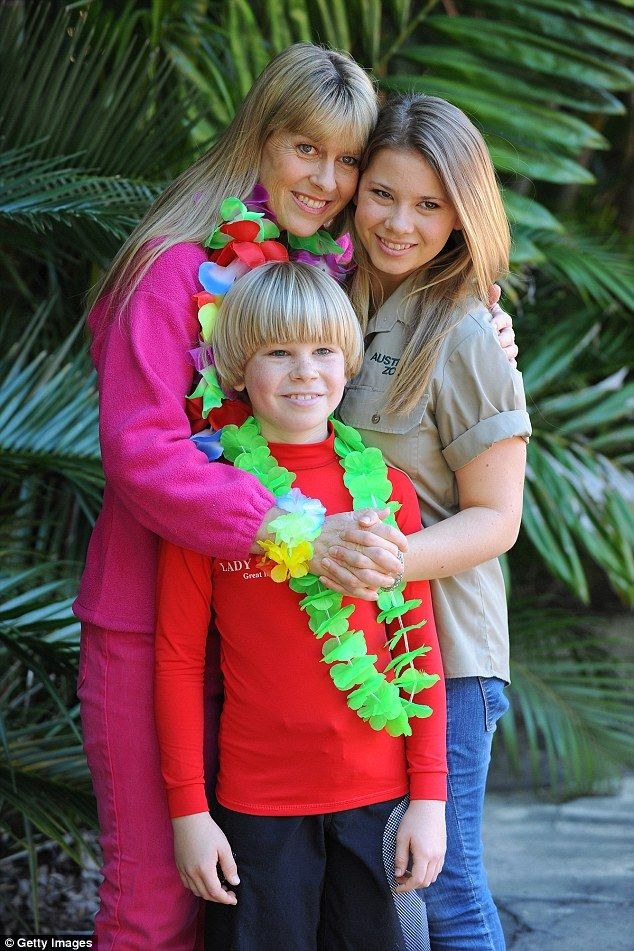 'I am Bindi Irwin, I am 17-years-old and my dad is the amazing Steve Irwin - my hero,' said Bindi dressed in jungle wear in the opening credits of the show