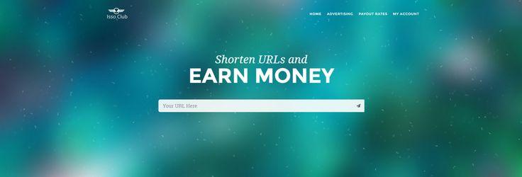 Shorten URLs and EARN MONEY #The_Downliner