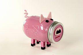 cute piggy bank with TransformMASON Paint