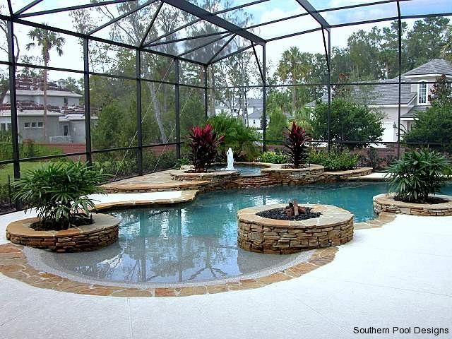 zero entry pool southern pool designs pools and