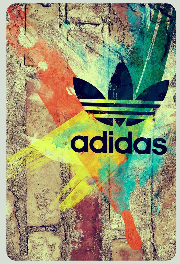 Active Iphone X Wallpaper Poster Graphic Design Poster Adidas Adidas Logo Logos