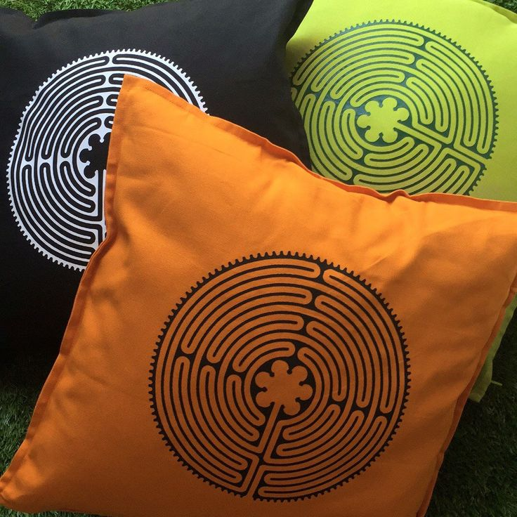 Now available, Birth Labyrinth cushion covers!  Click on the listing to read how these can aid you during your birth 💜