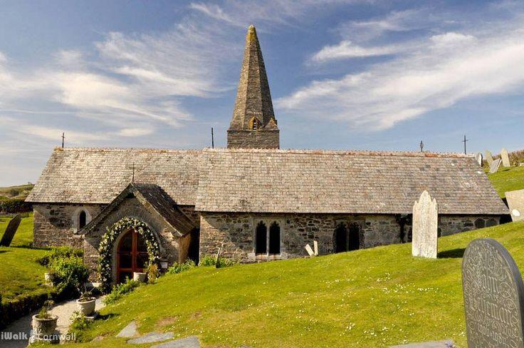 St Enodoc Church, Cornwall