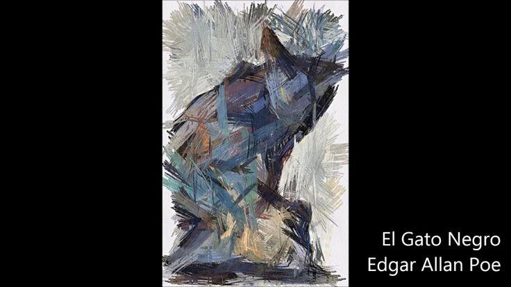 El Gato Negro cuento de terror de Edgar Allan Poe
