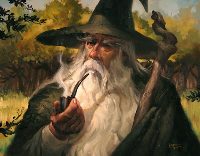 10 Fantásticas ilustrações de Gandalf... ~ Listas Literárias | Muito além dos livros |