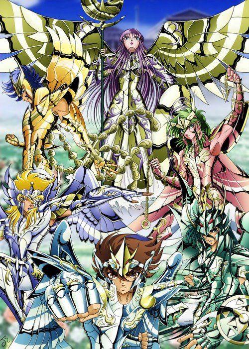 Saint Seiya | Athena | Pegasus | Dragon | Andromeda | Phoenix | Ikki Hyoga Shiryu Shun