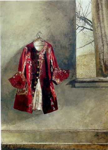 Curtain Call, by Andrew Wyeth
