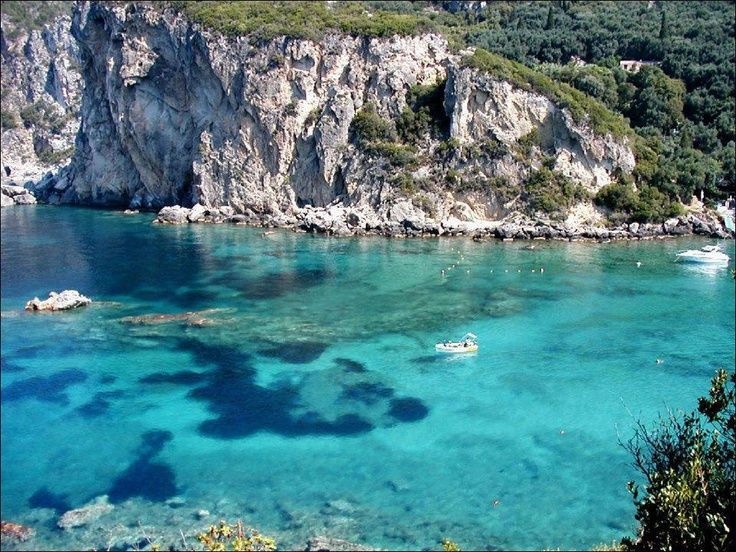 Corfu beach Top 10 Greek Islands you Should visit in Greece... Heading there in July #7