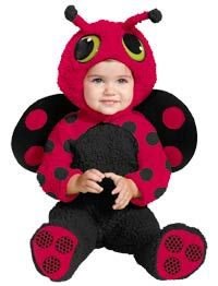 Lucky Ladybug Baby Costume--REALLY Cute #Halloween #Babies http://poshonabudget.com/2014/09/really-cute-halloween-babies.html via @poshonabudget