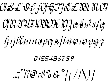 Greifswaler Deutsche Schrift font by Peter Wiegel - FontSpace