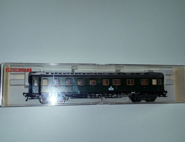 Fleischmann 5082, 4-achs. Schnellzugwagen,H0,1./2./3. Klasse, DRG, Epoche II in Modellbau, Modelleisenbahn, Spur H0   eBay