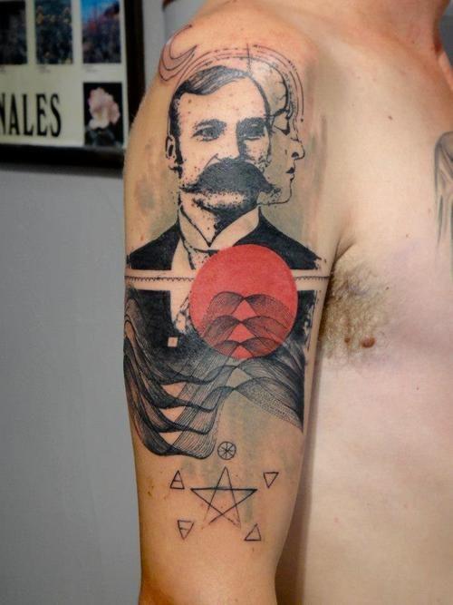 XOÏL/ Loïc Lavenu Thonon-les-Bains,France/ Traveling Xoïl, Needles Side TattOo Facebook Email:xoilloic.faitdestatouages@gmail.com
