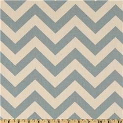 ZigZag Village Blue/NaturalZig Zag, First Prints, Village Blue Nature, Chevron Fabrics, Curtains Fabrics, Living Room, Blue Chevron, Prints Zigzag, Zigzag Village