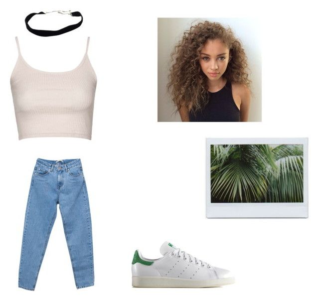 """Untitled #40"" by marssysl on Polyvore featuring Topshop, adidas Originals and Pull&Bear"