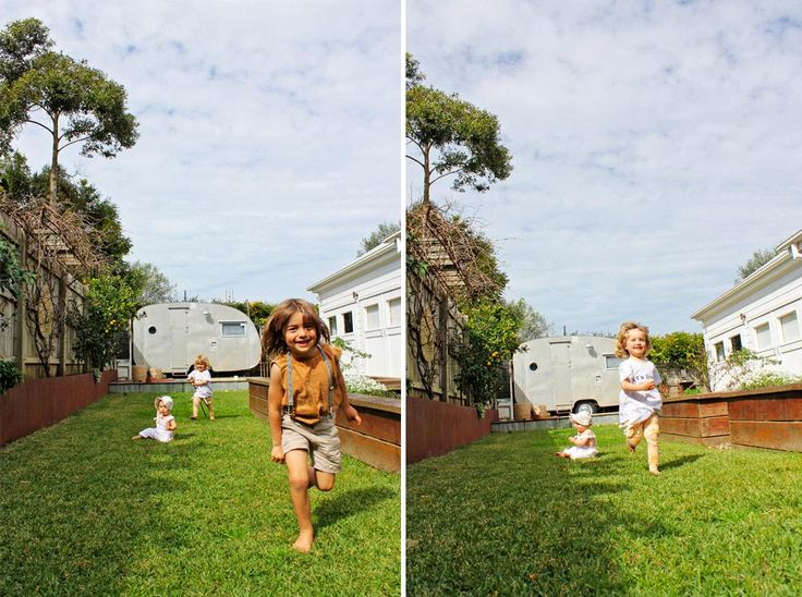 Backyard races with Atlas and Sochi