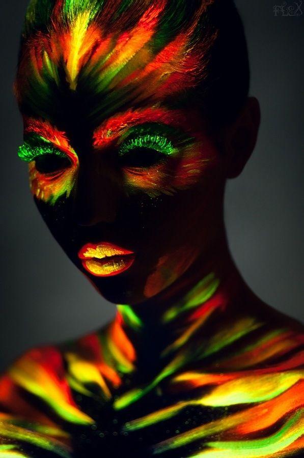 Glow in the Dark Body Paint, art. Join the hottest Group board on Pinterest! https://www.pinterest.com/busyqueen4u/pinterest-group-u-pin-it-here/