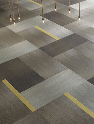 Awesome 18x36 carpet tile. Considering this one for my office!