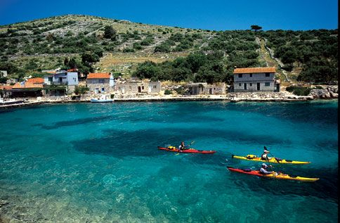 Croatia, the motherland. Dying to go: Beautiful Destinations, Buckets Lists, Favorite Places, Croatia Travel, Kayaks, Places I D, Sea, Travel Destinations, Dalmatians Coast