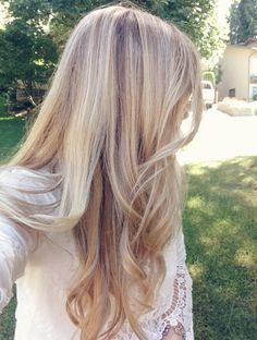 Rose gold blonde with highlights @kassinka