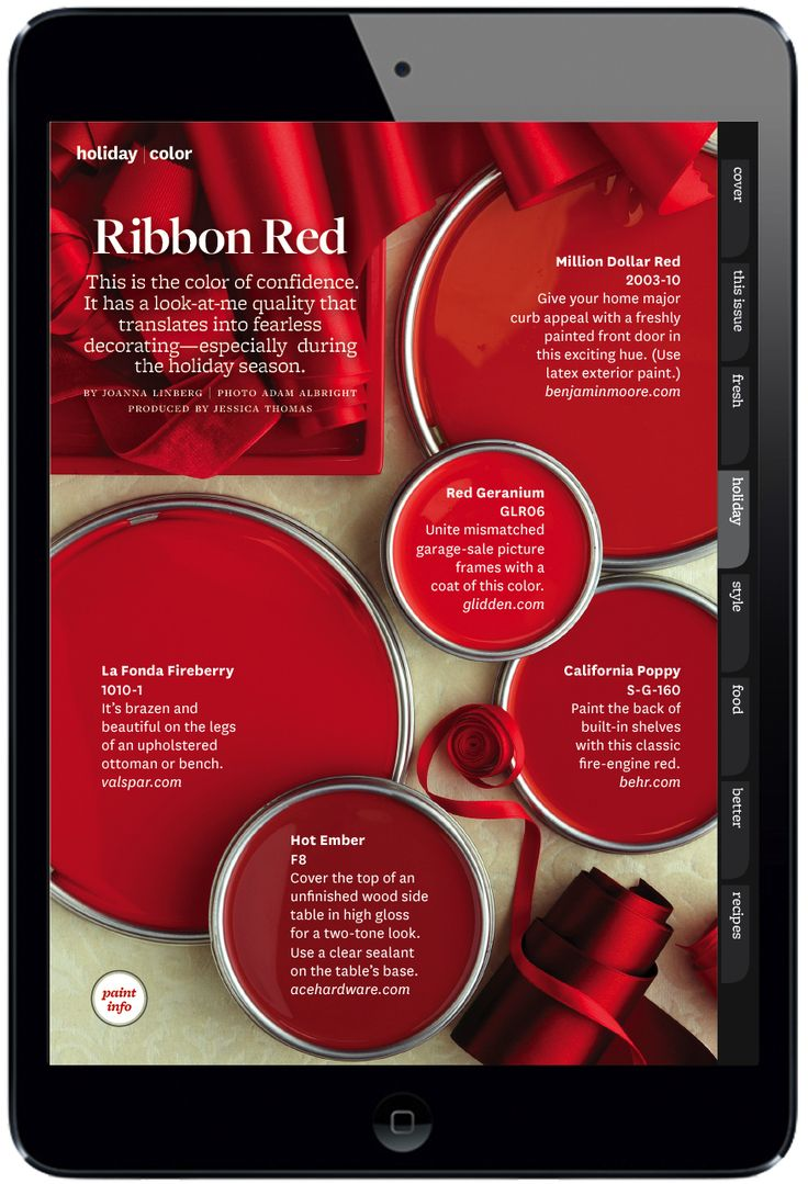 Paint colors for bedrooms red - Better Homes And Gardens Ribbon Red
