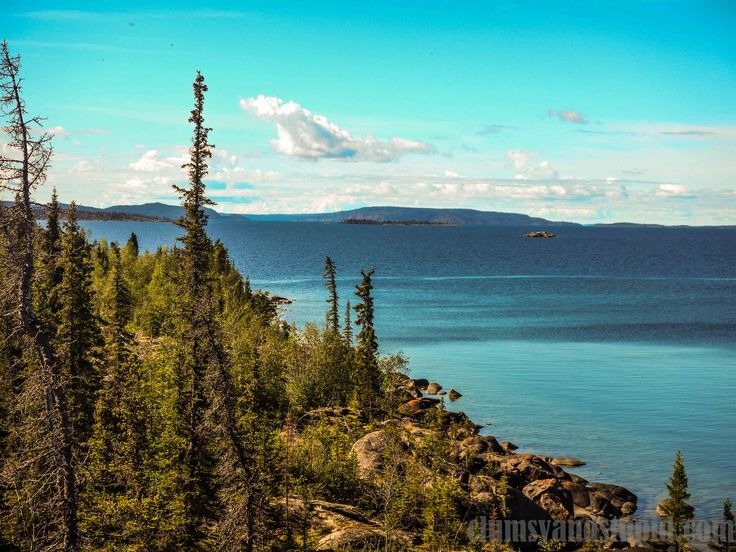 For the past year I was fed by Jason with pictures and stories of how beautiful the East Arm of Great Slave Lake is. I was listening about numerous islands with big, red cliffs, beautiful rivers wi...