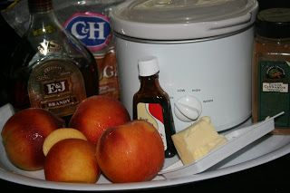 A Year of Slow Cooking: CrockPot Peach Compote Recipe