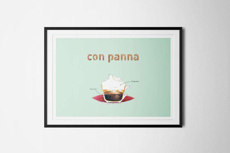 Con Panna Poster