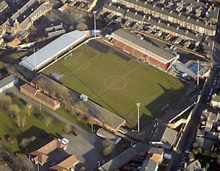 Bootham Crescent - Aerial - York City FC