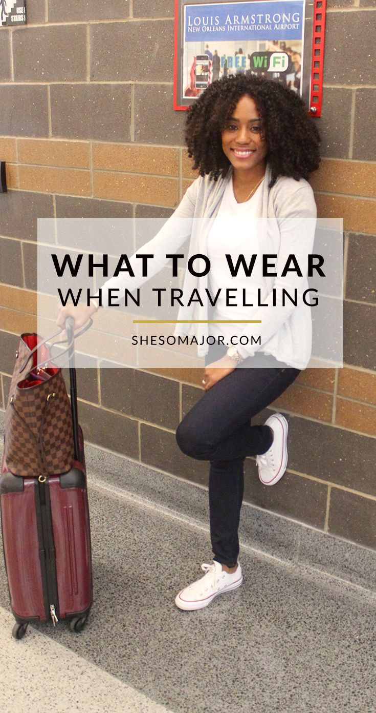 Travel Tip: What to wear when travelling? What is appropriate airline attire? Read more!