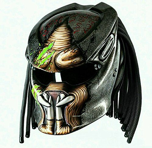 Alien Predator Helmet Motorcycle DOT Approved - Tri Laser... https://www.amazon.com/dp/B078C5F8KL/ref=cm_sw_r_pi_dp_x_j3miAbMDSWZDW