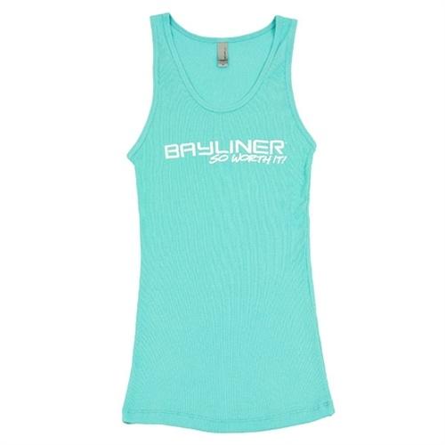 Ladies Logo Tank - Tahiti Blue #bayliner #summer