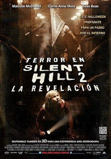 Terror en Silent Hill 2, movie, película, film, cine, teathers, video on demand, vod, pánico, miedo, terror, horror, fear, scary.