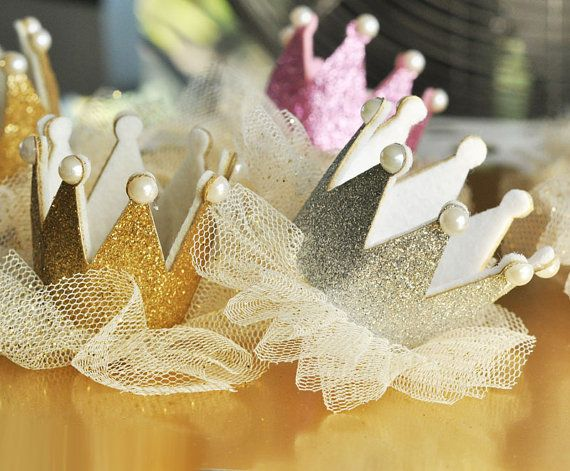First Birthday Crown Baby Birthday Crown Frozen by ModParty                                                                                                                                                                                 More