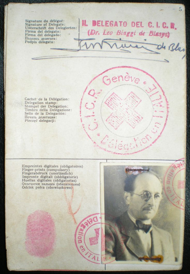 Document under the name of Ricardo Klement that Adolf Eichmann, the key operational mastermind of the Holocaust, used to enter Argentina in 1950. Eichmann was eventually abducted by Israeli agents, put to trial in Israel, and duly hanged. His ashes were dispersed over international waters -- no final resting place for the murderer.