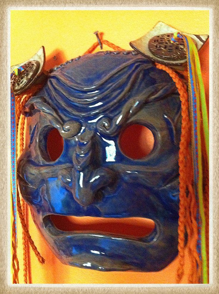 Slab mask. Wall art
