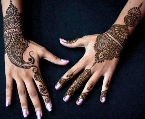 Latest Mehndi Designs for Hands 014