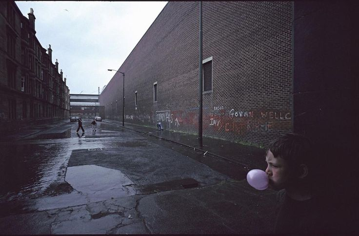 Les bidonvilles de Glasgow, selon Raymond Depardon | VICE | France