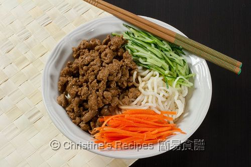 Image result for food photography 炸酱面