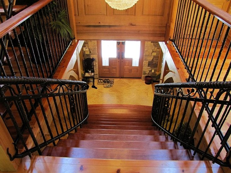 Duff   Custom Stair Railing Using Different Size Hot Forged And Twisted  Rebar   Mark Puigmarti