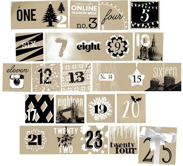 Online Advent Calendar