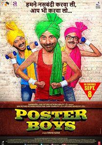 Poster Boys filmi HD izle. 3 erkek fotoğraflarını şehrin belirli bölgelerindeki posterlerde afişlerde kullanıldığını görünce şok olurlar. Hint filmleri izle.