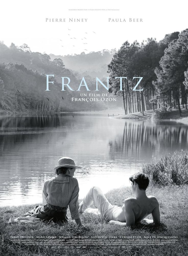 Frantz (2016) Director: François Ozon Writers: François Ozon (screenplay), Philippe Piazzo (in collaboration with) Stars: Pierre Niney, Paula Beer, Ernst Stötzner