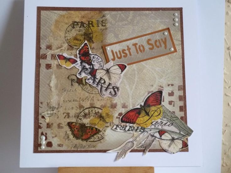 Handmade card by Margaret Brackenbury. Imagination Crafts' Rice Papers, Art stencils.
