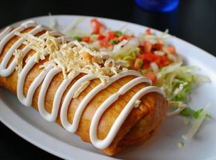 Fried Ground Beef Chimichangas Recipe | Just A Pinch Recipes