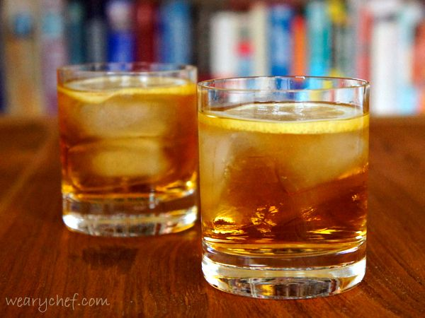 Rusty Nail Cocktail for Girls - The Weary Chef